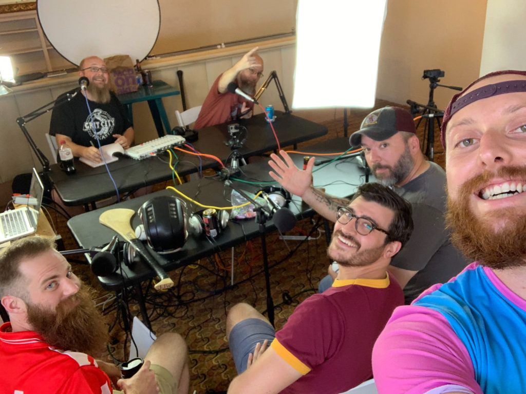 Hounds on the Grit City Podcast